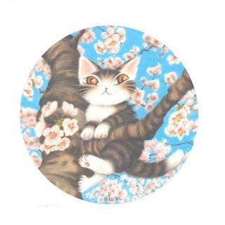 わちふぃーるど 猫のダヤン 卵のからコースター 桜色の風