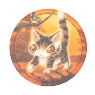 わちふぃーるど 猫のダヤン 卵のからコースター 光の中