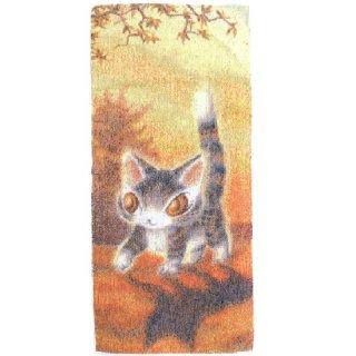 わちふぃーるど 猫のダヤン 五彩織フェイスタオル 光の中