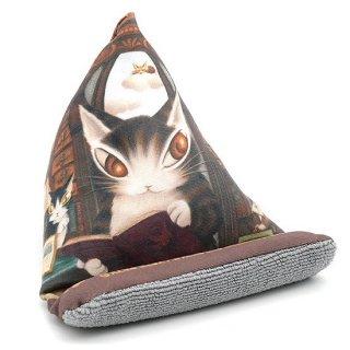 わちふぃーるど 猫のダヤン スマホスタンド 理想の図書館