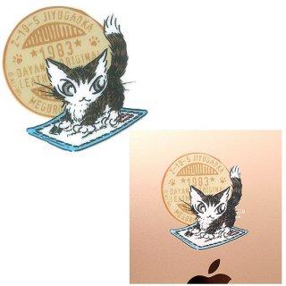 わちふぃーるど 猫のダヤン 貼ってはがせる耐熱耐水シール お手紙