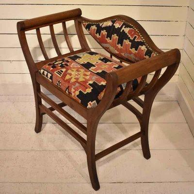 オールドキリム・椅子