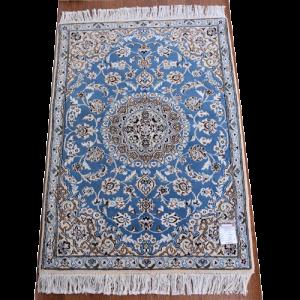 ペルシャ絨毯 ナイン産 約125x88cm
