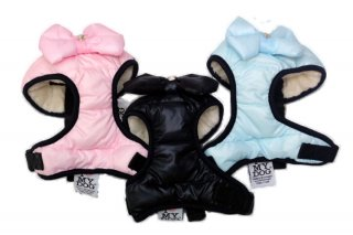 GLAMBOW WARM HARNESS【I ♡MY DOG】