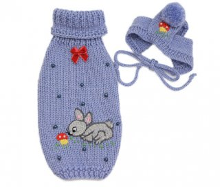 Mini bunny set (ブルー)【Bumble Bee】