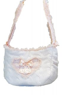 WOOL PINK BAG【for pets only】