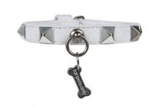 CHIC AND STUD COLLAR GREY 【for pets only】