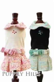 Ribbon Tweed Dress【FPO Angels】