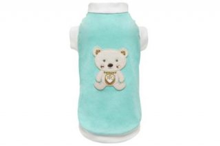 DREAMY BEAR AQUA T-SHIRT【for pets only】