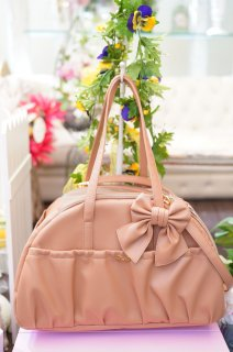 ARIA BAG ECOLEATHER CAMEL【for pets only】