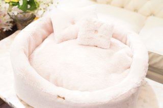WINTER FUR BED POLVERE CHENILLE【for pets only】