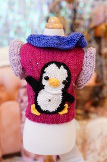 19-pullover penguin girl【IT-DOGS】
