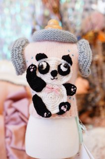 18-pullover cashmere panda girl【IT-DOGS】