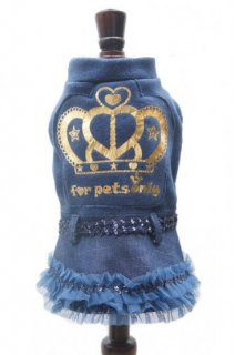 KING DANCE BUL/JEANS【for pets only】