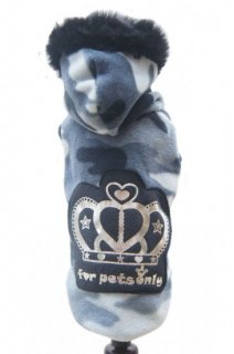 ROYAL PULL GREY CAMO【for pets only】