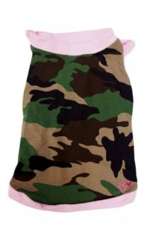 BABY CAMO MIMETICO/ROSA【for pets only】