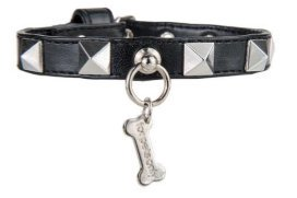 CHIC AND STUD ECOLEATHER BLACK【for pets only】