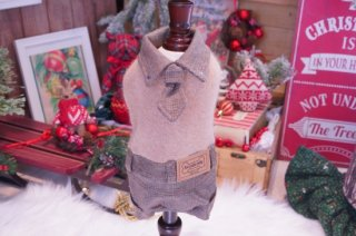 BOY 4 WOOL BROWN【for pets only】