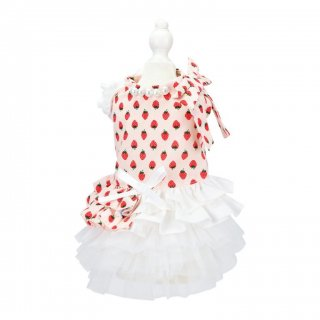 French doll ワンピース strawberry pink【aletta angelique】