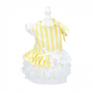 French doll ワンピース Stripe Yellow【aletta angelique】