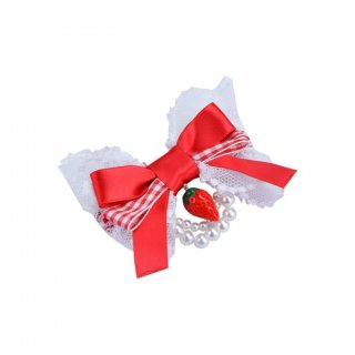 STRAWBERRY バレッタ red【aletta angelique】