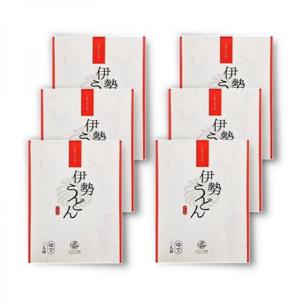 【送料無料】伊勢うどんギフトセットA 6袋セット 12食