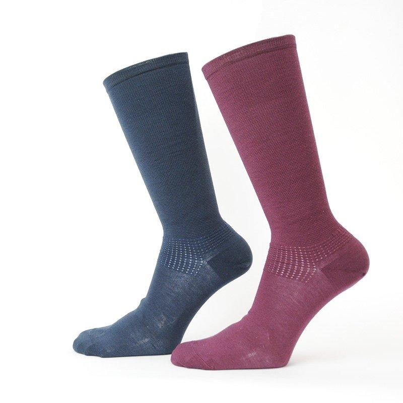 独自の編み地研究から生まれたビジネスマンへ贈る靴下 NT7132