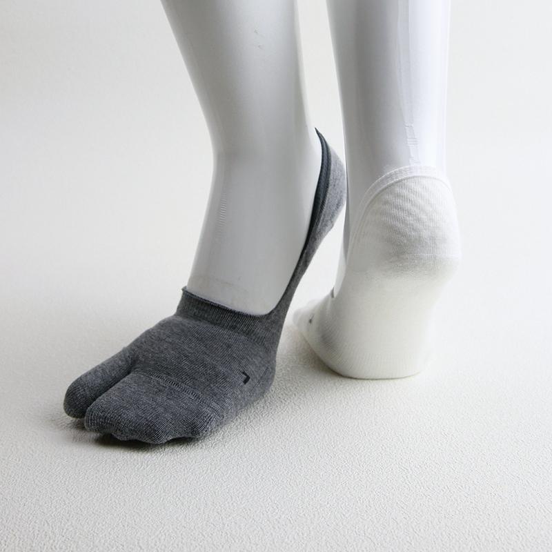 足袋型&かかとズレ防止付 シューズインソックス KT0201