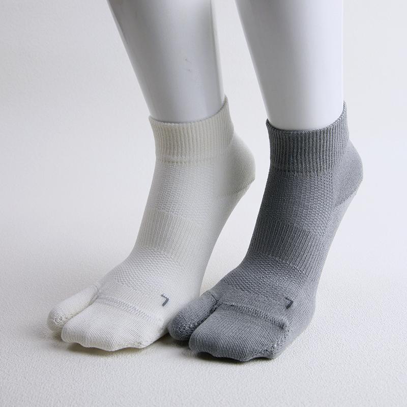 足袋型&葛和紙繊維 蒸れないショートソックス KT0202