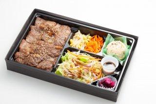【USAビーフ】カルビ肉盛り弁当