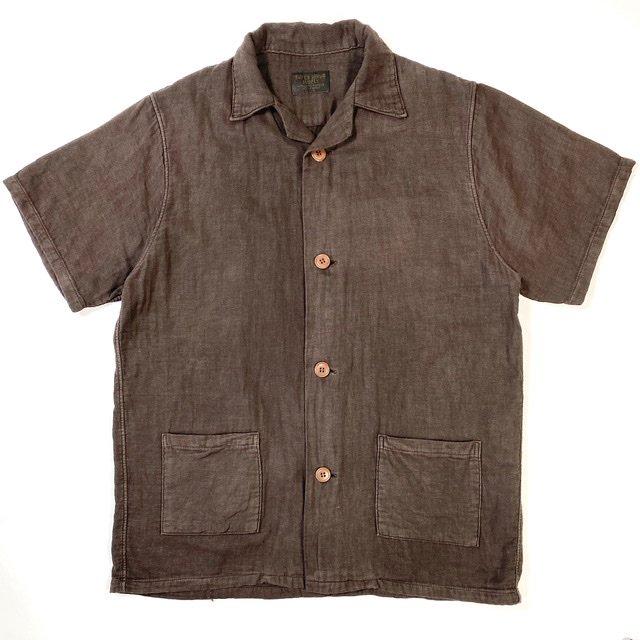 Open Necked Shirts Mud Dye