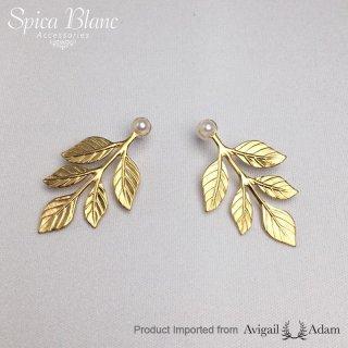 【Athena】リーフピアス ・ gold / silver 【Avigail Adam】