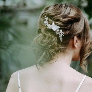 【Fleurs de Cerisier】フローラルヘッドドレス【aino】