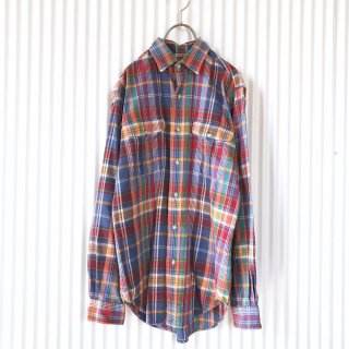 Polo Lalph Lauren フタポケットチェックシャツ
