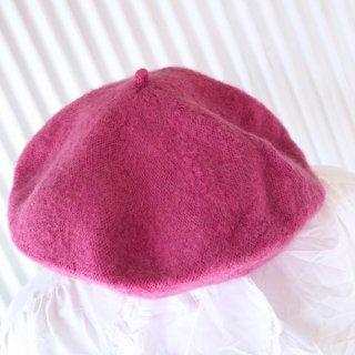 EURO ニットベレー帽/ピンク