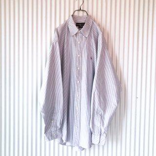 Ralph Lauren ストライプオックスフォードシャツ