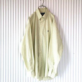 Ralph Lauren 方眼チェックB.Dシャツ