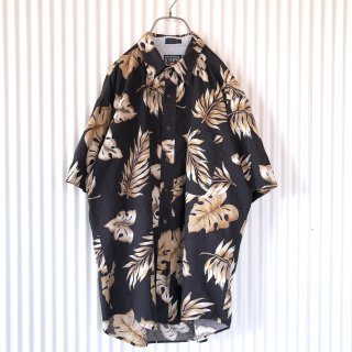 CHAPS RALPH LAUREN BIGリーフコットンシャツ