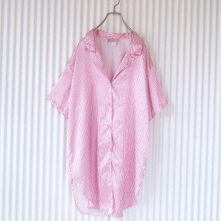 BETH MICHAELS ロンドンストライプパジャマシャツ