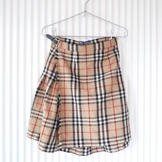 Burberrys WOOLラップスカート