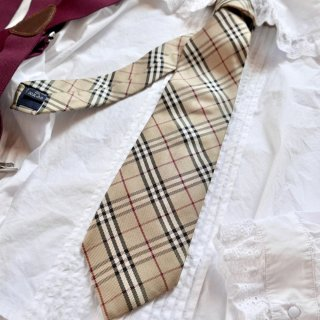 BURBERRY  チェックネクタイ
