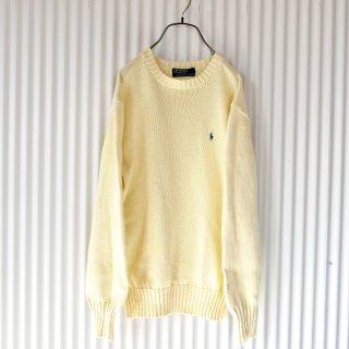 Polo Ralph Lauren パステルCOTTONニット/Lemon