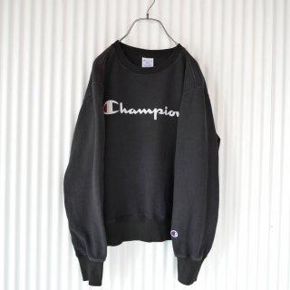 Champion ロゴスウェット/Black
