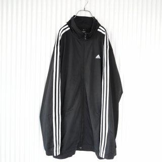 adidas 3ライントラックジャケット/2XL/黒×白
