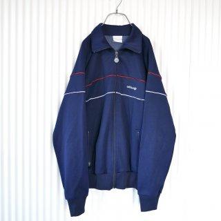 adidas トレフォイル刺繍ヴィンテージラックジャケット