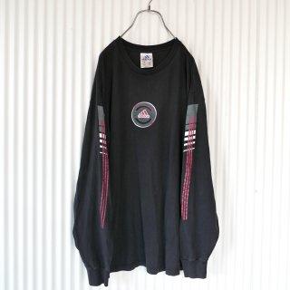 adidas 袖ラインロンT/USA