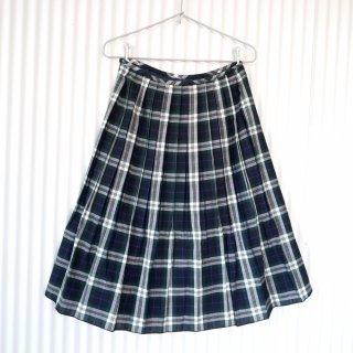 タータンチェック サマープリーツスカート