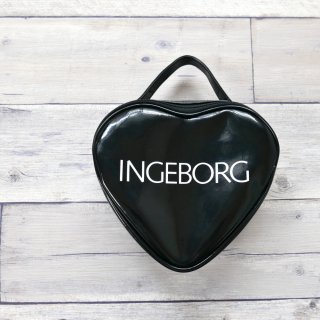 INGEBORG BLACK HART エナメルバッグ