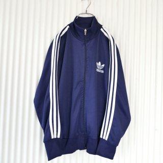 adidas トレフォイル刺繍×3ライン トラックジャケット