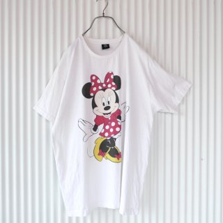 Minnie Mouse 前後プリントTee